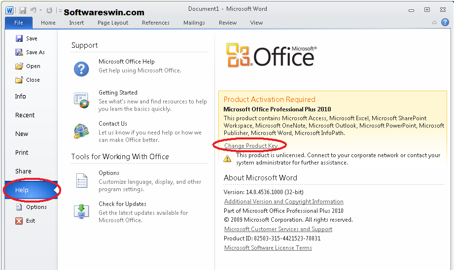 ms office 2010 ez activator download